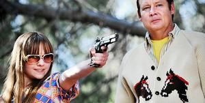 """Tara Lynne Barr and Joel Murray in """"God Bless America."""""""