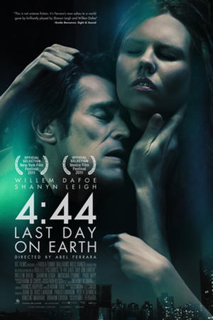 "Poster art from ""4:44 Last Day on Earth."""