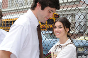 """Richard Kohnke as Earl and Rainey Qualley as Maddie Fine in """"Mighty Fine."""""""