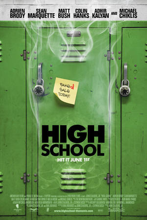 "Poster art for ""HIGH School."""