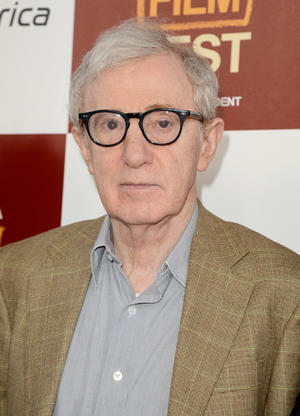 """Woody Allen at the California premiere of """"To Rome With Love."""""""
