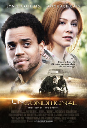 """Poster art for """"Unconditional."""""""