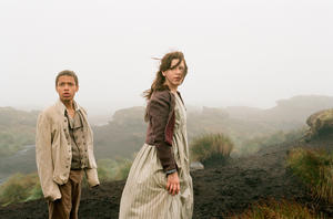 "Solomon Glave and Shannon Beer in ""Wuthering Heights."""