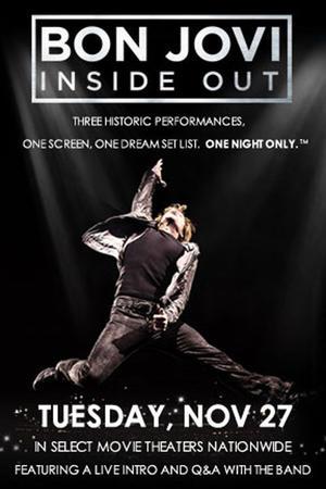 "Poster art for ""Bon Jovi: Inside Out."""