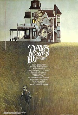 "Poster art for ""Days of Heaven."""