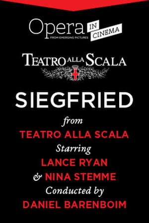 """Poster art for """"Siegried."""""""