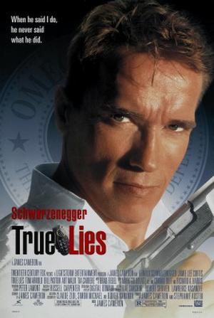 """Poster art for """"True Lies."""""""