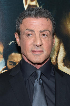 "Sylvester Stallone at the New York premiere of ""Bullet To The Head."""