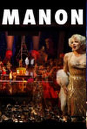 """Poster art for """"Manon."""""""