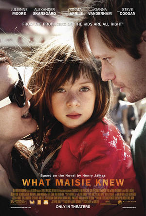 "Poster art for ""What Maisie Knew."""