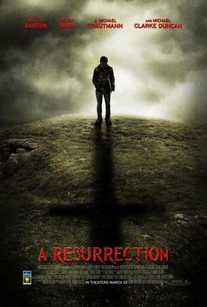 "Poster art for ""A Resurrection."""
