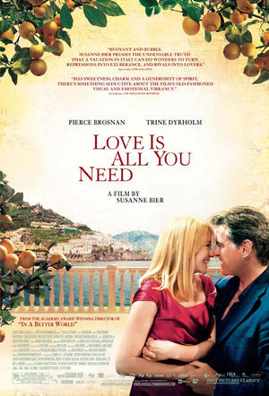 "Poster art for ""Love is All You Need."""