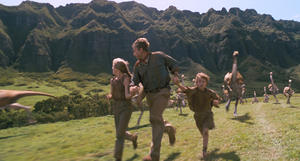 """A scene from """"Jurassic Park."""""""