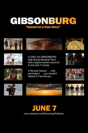 "Poster art for ""Gibsonburg."""