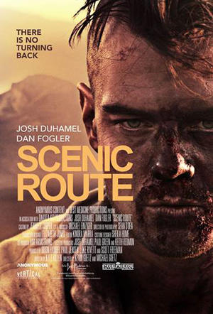 """Poster art for """"Scenic Route."""""""