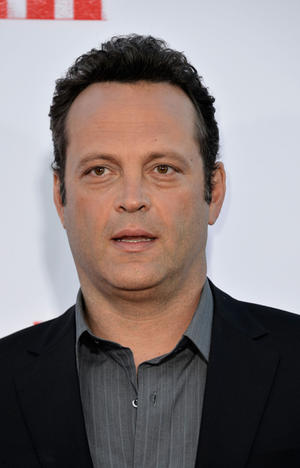"Vince Vaughn at the California premiere of ""The Internship."""