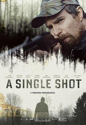 "Poster art for ""A Single Shot."""