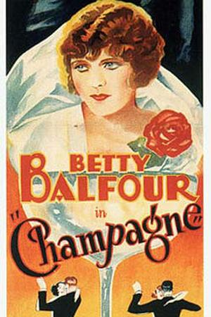 "Poster art for ""Champagne."""