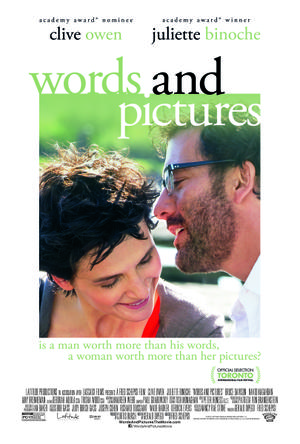 "Poster art for ""Words and Pictures."""
