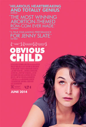 """Poster art for """"Obvious Child."""""""