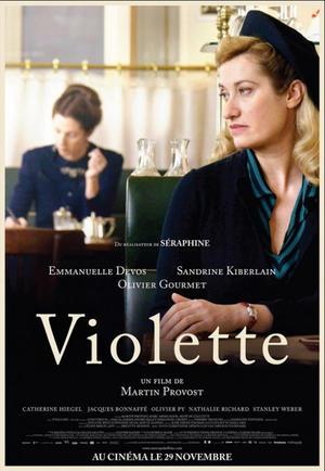 """Poster art for """"Violette."""""""