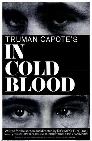 "Poster art for ""In Cold Blood."""