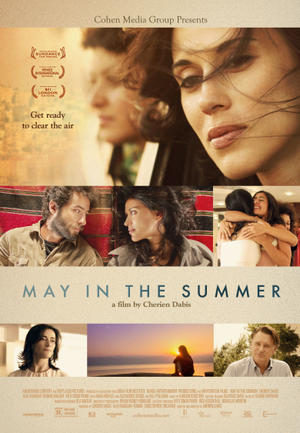 "Poster art for ""May in the Summer."""