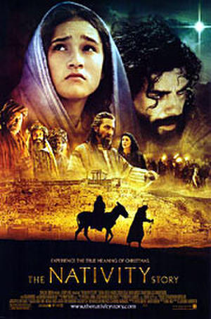 "Poster art for ""The Nativity Story."""