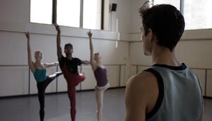 "A scene from ""Ballet 422."""