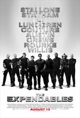 The Expendables showtimes and tickets