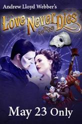 Phantom Week: Love Never Dies showtimes and tickets