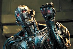 Behind the Scenes: See What James Spader Looked Like in His Wild Mo-Capped 'Age of Ultron' Suit