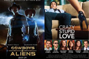 You Pick the Box Office Winner: 'Cowboys & Aliens' vs. 'The Smurfs' vs. 'Crazy, Stupid, Love'