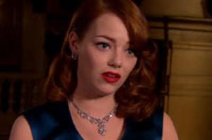 Watch: Josh Brolin, Ryan Gosling, Emma Stone in 'Gangster Squad;' Del Toro, Jessica Chastain Talk 'Mama'
