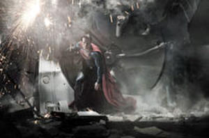 First Look: First Official Image of Henry Cavill as Superman!
