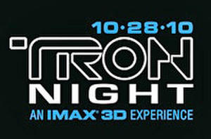 'Tron Night'  Promises Epic IMAX Footage -- Who's Going?