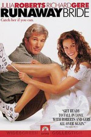 "Poster art for ""Runaway Bride."""