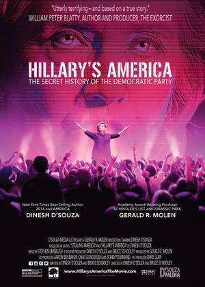 "Poster art for "" Hillary's America: The Secret History of the Democratic Party."""