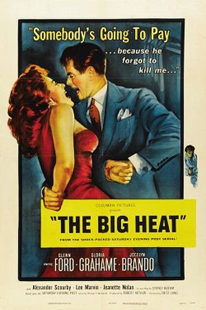"Poster art for ""The Big Heat."""