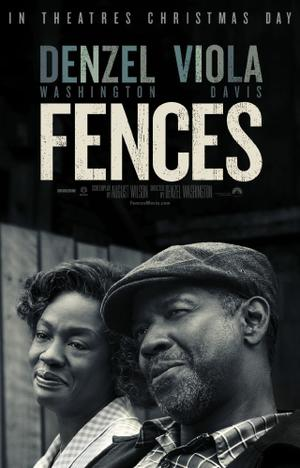 """Poster art for """"Fences"""""""