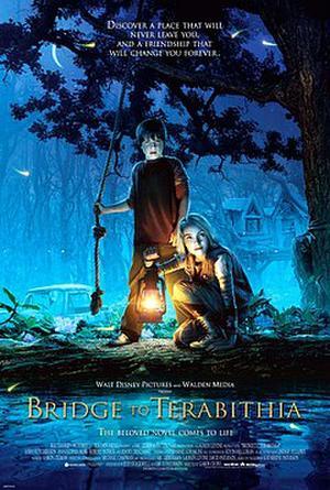 "Poster art for ""Bridge to Terabithia."""