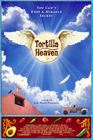 """Poster art for """"Tortilla Heaven."""""""