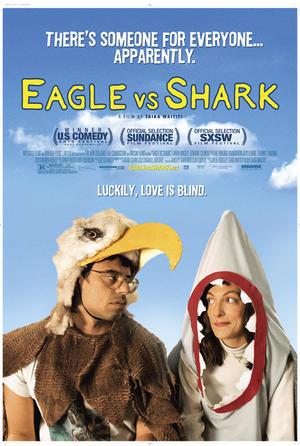 """Poster art for """"Eagle vs. Shark."""""""