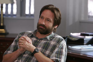 """David Duchovny in """"The TV Set."""""""