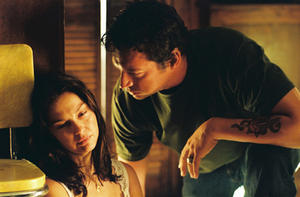 "Ashley Judd and Harry Connick Jr. in ""Bug."""