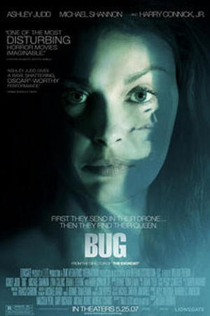 "Poster art for ""Bug."""