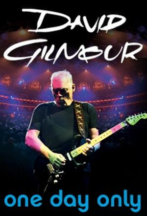 "Poster art for ""David Gilmour - Live At The Royal Albert Hall."""