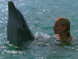 """Carly Schroeder in """"Eye of the Dolphin."""""""