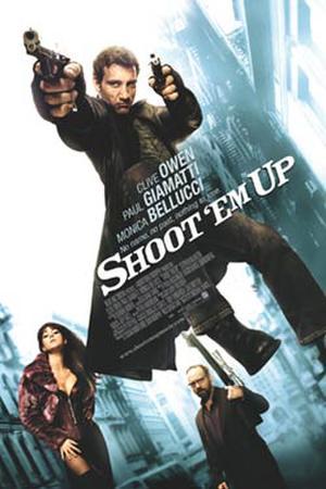 "Poster art for ""Shoot 'Em Up."""