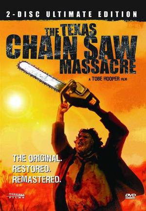"Poster art for ""The Texas Chainsaw Massacre""."